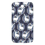 Geometric Deer Retro Pattern Samsung Galaxy Mega I9200 Hardshell Back Case