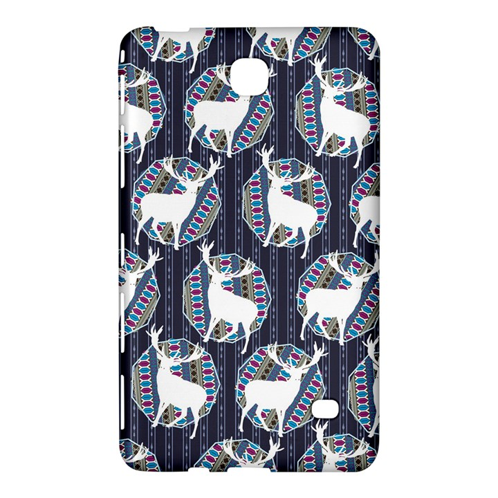 Geometric Deer Retro Pattern Samsung Galaxy Tab 4 (7 ) Hardshell Case