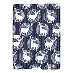 Geometric Deer Retro Pattern Samsung Galaxy Tab S (10 5 ) Hardshell Case