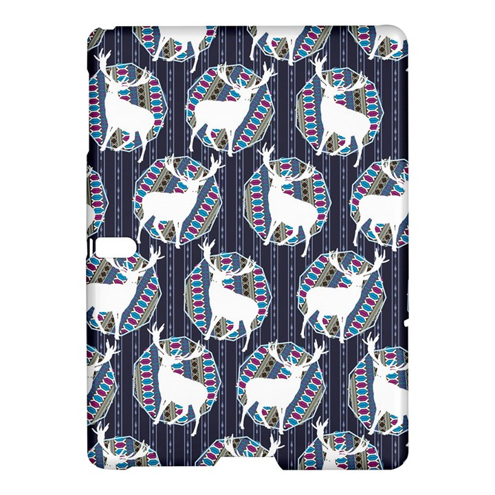 Geometric Deer Retro Pattern Samsung Galaxy Tab S (10.5 ) Hardshell Case