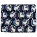 Geometric Deer Retro Pattern Jigsaw Puzzle Photo Stand (Rectangular)