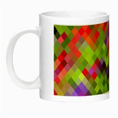 Colorful Mosaic Night Luminous Mugs