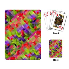 Colorful Mosaic Playing Card by DanaeStudio
