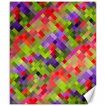 Colorful Mosaic Canvas 8  x 10  10.02 x8 Canvas - 1