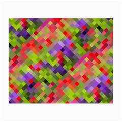 Colorful Mosaic Small Glasses Cloth (2 Side)