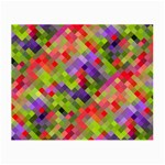 Colorful Mosaic Small Glasses Cloth (2-Side) Front