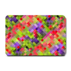 Colorful Mosaic Small Doormat  by DanaeStudio