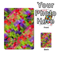 Colorful Mosaic Multi Purpose Cards (rectangle)  by DanaeStudio