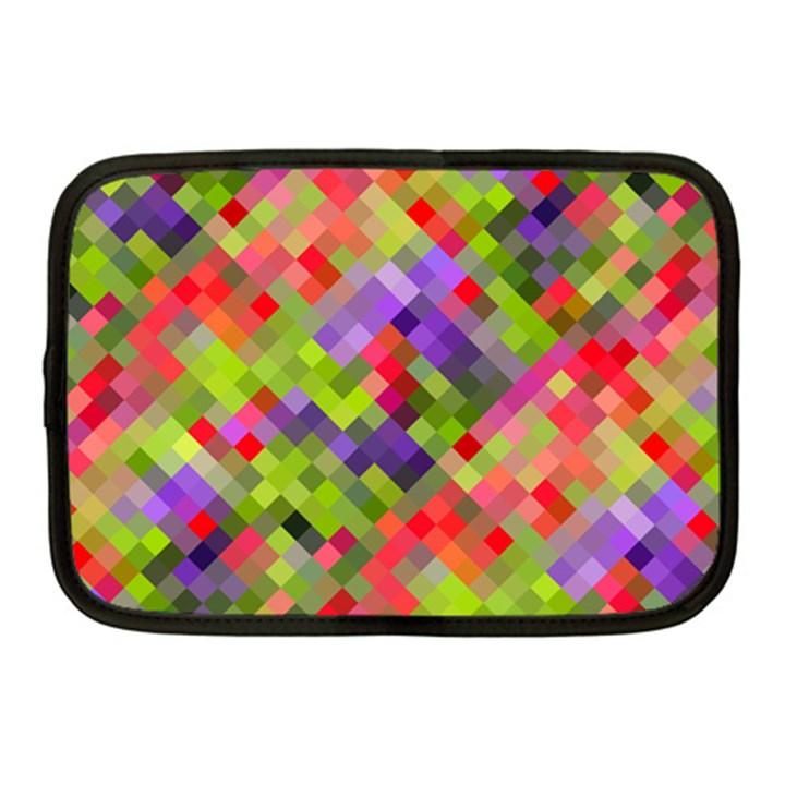 Colorful Mosaic Netbook Case (Medium)