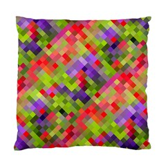 Colorful Mosaic Standard Cushion Case (two Sides) by DanaeStudio