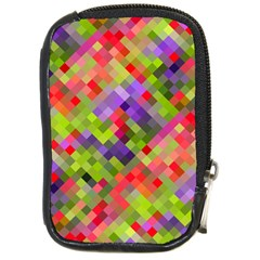 Colorful Mosaic Compact Camera Cases by DanaeStudio