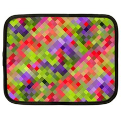 Colorful Mosaic Netbook Case (xxl)  by DanaeStudio