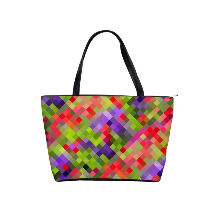 Colorful Mosaic Shoulder Handbags
