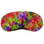Colorful Mosaic Sleeping Masks Front