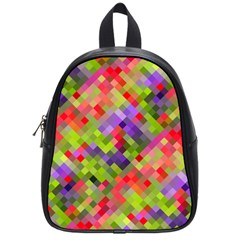 Colorful Mosaic School Bags (small)