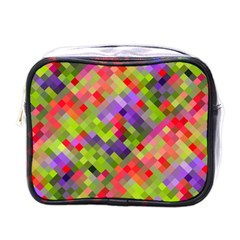 Colorful Mosaic Mini Toiletries Bags