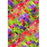 Colorful Mosaic 5.5  x 8.5  Notebooks Back Cover