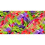 Colorful Mosaic Magic Photo Cubes Long Side 2