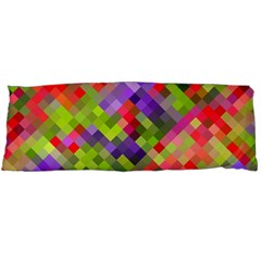 Colorful Mosaic Body Pillow Case (dakimakura) by DanaeStudio