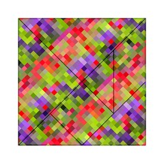 Colorful Mosaic Acrylic Tangram Puzzle (6  X 6 ) by DanaeStudio