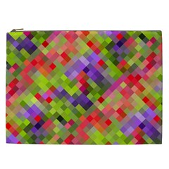 Colorful Mosaic Cosmetic Bag (xxl)