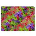 Colorful Mosaic Cosmetic Bag (XXL)  Back