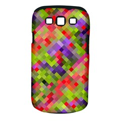 Colorful Mosaic Samsung Galaxy S Iii Classic Hardshell Case (pc+silicone) by DanaeStudio