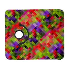 Colorful Mosaic Samsung Galaxy S  Iii Flip 360 Case by DanaeStudio