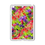 Colorful Mosaic iPad Mini 2 Enamel Coated Cases Front