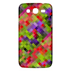 Colorful Mosaic Samsung Galaxy Mega 5 8 I9152 Hardshell Case  by DanaeStudio
