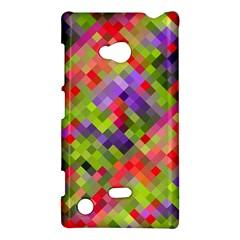 Colorful Mosaic Nokia Lumia 720