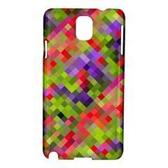 Colorful Mosaic Samsung Galaxy Note 3 N9005 Hardshell Case by DanaeStudio