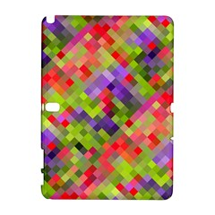 Colorful Mosaic Samsung Galaxy Note 10 1 (p600) Hardshell Case