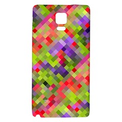 Colorful Mosaic Galaxy Note 4 Back Case by DanaeStudio