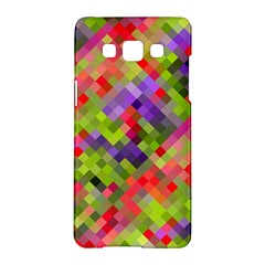 Colorful Mosaic Samsung Galaxy A5 Hardshell Case  by DanaeStudio