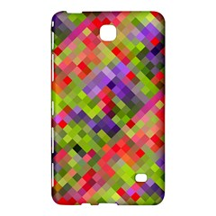 Colorful Mosaic Samsung Galaxy Tab 4 (7 ) Hardshell Case  by DanaeStudio