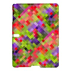 Colorful Mosaic Samsung Galaxy Tab S (10 5 ) Hardshell Case  by DanaeStudio