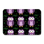 Halloween purple owls pattern Plate Mats