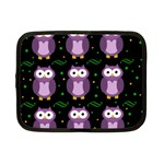 Halloween purple owls pattern Netbook Case (Small)