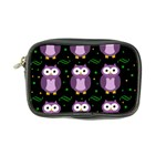 Halloween purple owls pattern Coin Purse