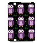 Halloween purple owls pattern Kindle Fire HD 8.9