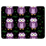 Halloween purple owls pattern Samsung Galaxy Tab 7  P1000 Flip Case