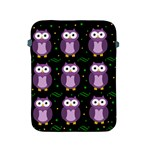 Halloween purple owls pattern Apple iPad 2/3/4 Protective Soft Cases