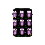 Halloween purple owls pattern Apple iPad Mini Protective Soft Cases