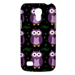 Halloween purple owls pattern Galaxy S4 Mini