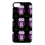 Halloween purple owls pattern Apple iPhone 5S/ SE Hardshell Case