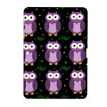 Halloween purple owls pattern Samsung Galaxy Tab 2 (10.1 ) P5100 Hardshell Case