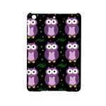 Halloween purple owls pattern iPad Mini 2 Hardshell Cases