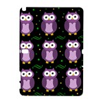 Halloween purple owls pattern Samsung Galaxy Note 10.1 (P600) Hardshell Case