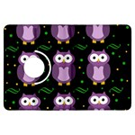 Halloween purple owls pattern Kindle Fire HDX Flip 360 Case
